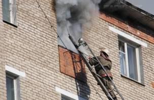 В Смоленске на улице Маршала Еременко в огне погиб пенсионер