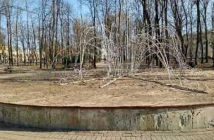В Смоленске начался ремонт многострадального «юбилейного» фонтана