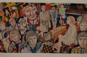 Картина смоленского художника представлена на выставке авангарда в Москве