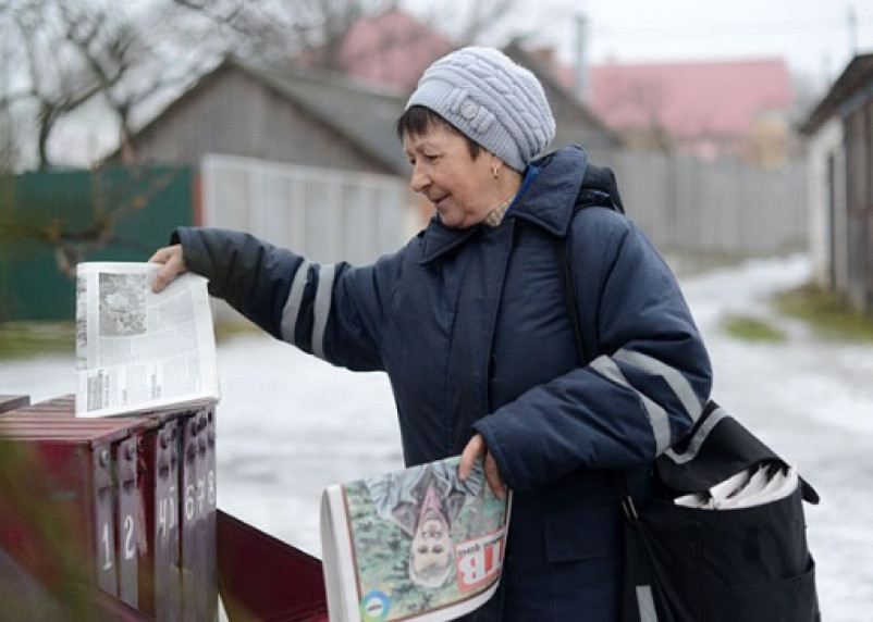 Зарплата смоленских почтальонов — меньше 5 тысяч рублей
