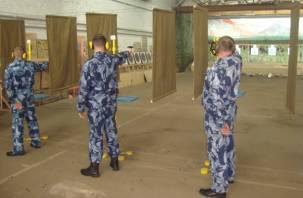 Сотрудники смоленского УФСИН устроили «перестрелку»