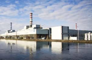 На смоленской АЭС отключен один энергоблок