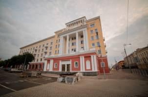 Строители рассказали, как велась реконструкция гостиницы «Смоленск»: фоторепортаж