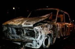 На Смоленщине дотла сгорели два автомобиля