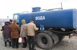 В Гедеоновке отключат холодную воду