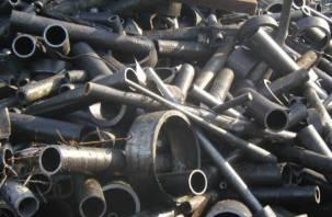 Белорусы пытались нелегально ввезти через Смоленск черный  металлолом