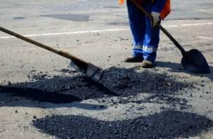 В Смоленске ремонтируют 8 улиц