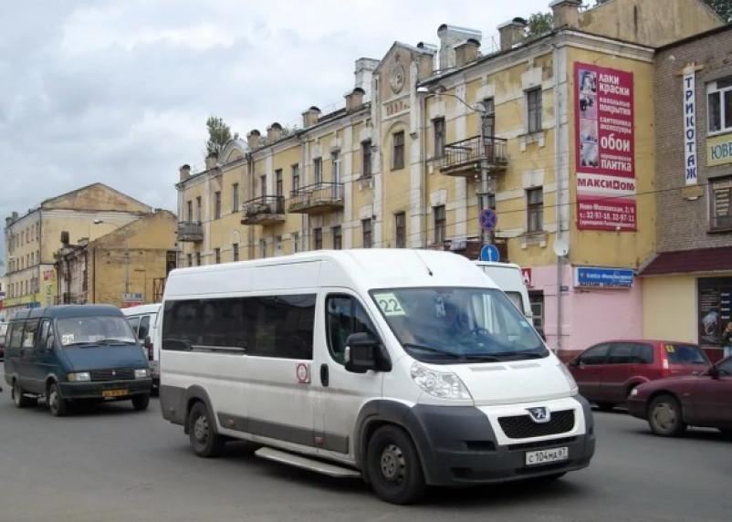 Расписание 22-го маршрута в Смоленске снова изменится