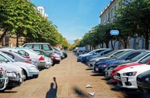 Главную пешеходную улицу Смоленска хотят превратить в парковку