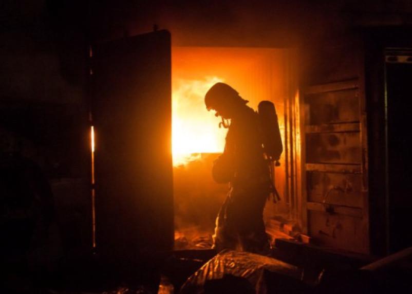 В Талашкине при пожаре погибла пенсионерка