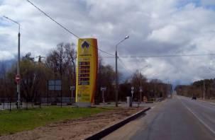 На бензоколонках в Смоленске — опять +20