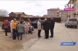 Федеральный телеканал рассказал о проблемах обманутых дольщиков в Смоленске