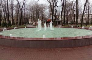 В Смоленске заработал отремонтированный фонтан на Блонье