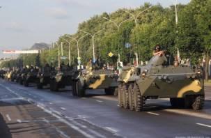 Через Смоленск на Беларусь пройдет колонна бронетехники