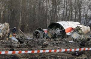 Падение польского самолета под Смоленском произошло не из-за взрыва