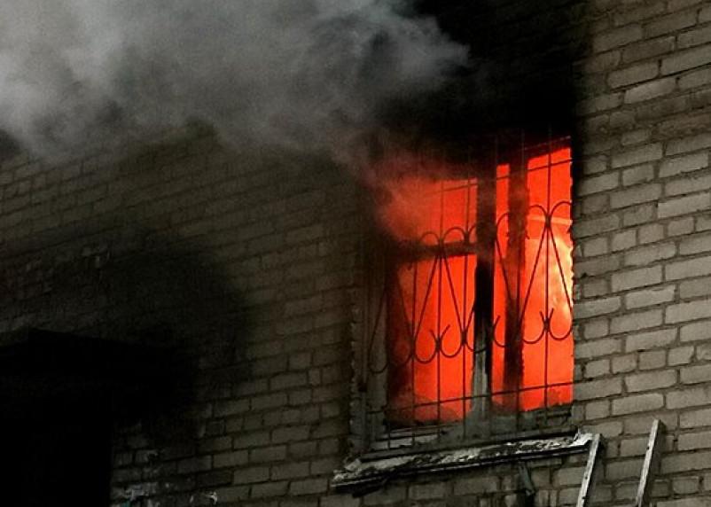 В поселке Верхнеднепровском в огне погибла пенсионерка