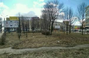 Сквер напротив «Гамаюна» отобрали у арендатора