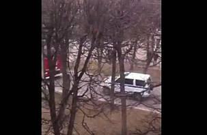 В центре Смоленска нашли подозрительный предмет (видео)