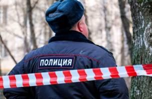 Молодую женщину обнаружили мертвой на улице в Смоленске