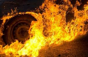 В Смоленске племянник сжег машину нелюбимого дяди