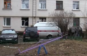В Смоленске в жилом доме на ул. Крупской произошел взрыв бытового газа