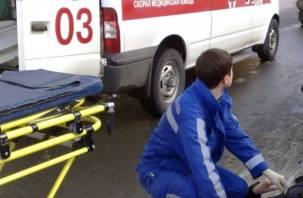В Смоленске пожилая пара попала под колеса автомобиля