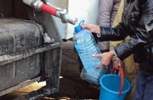 Две улицы в Смоленске останутся без холодной воды
