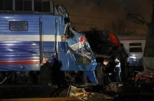 Жуткое столкновение поездов нарушило сообщение между Москвой и Смоленском (видео)