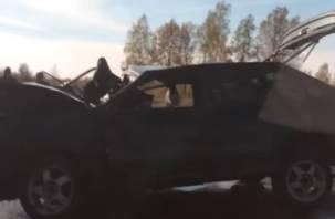 Два водителя пострадали при ДТП в Дорогобужском районе (видео)