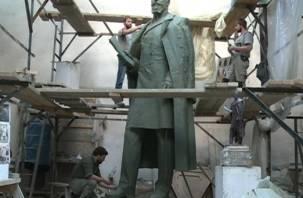 В Смоленске изготовили для Челябинска памятник Столыпину