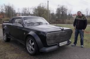На Смоленщине автолюбитель собрал уникальный автомобиль
