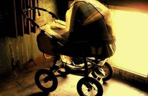 В Дорогобуже малыш остался без коляски, она сгорела дотла