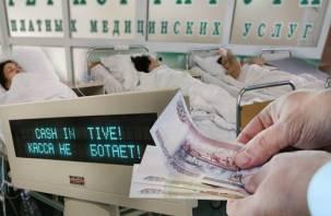 На Смоленщине все больше услуг в государственных больницах становятся платными