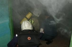В Ярцеве из-за курильщицы едва не погибли 30 человек