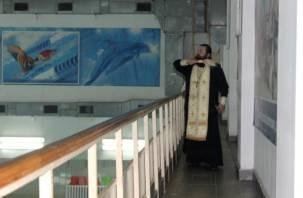 В Смоленске освятили бассейн «Дельфин»