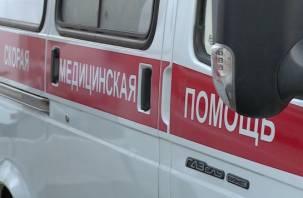 В Смоленске парень умер прямо на улице