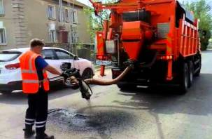 В Санкт-Петербурге тестируют смоленскую дорожную спецтехнику