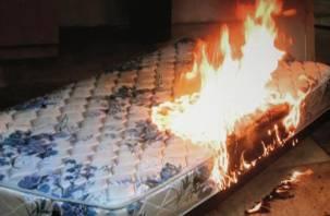 В Вязьме произошел пожар в квартире