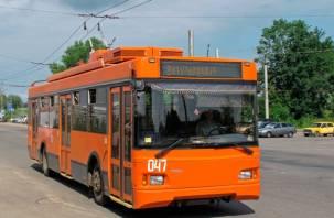 В Смоленске изменится движение одного троллейбусного маршрута