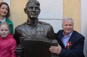 В Калининградской области установлен памятник Василию Тёркину