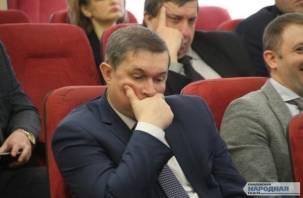 Глава Смоленска по-прежнему среди отстающих мэров