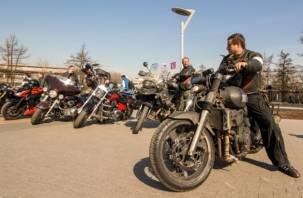 В Смоленской области задержали 17 байкеров-лихачей