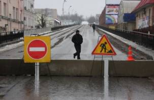 Сегодня в Смоленске начинается ремонт Беляевского путепровода