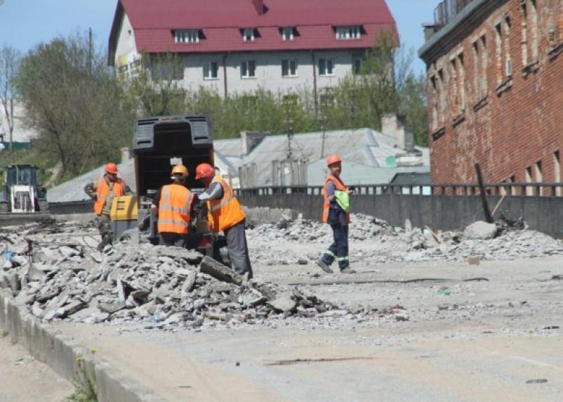 Срок ремонта Беляевского путепровода продлен