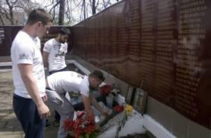 Смоленская молодежь восстанавливает памятники войны