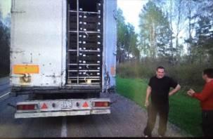 Тонны яблок и черного металла не пропустили через Смоленск
