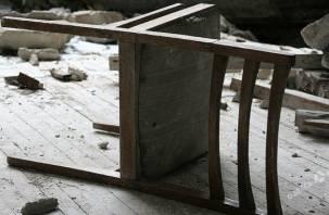 В Десногорске отец избил сына стулом