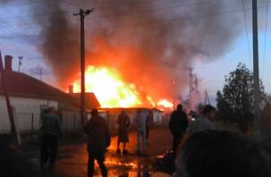 В Рославле еще один человек погиб в огне