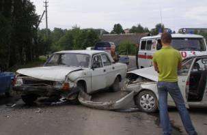 На Смоленщине в результате ДТП три человека оказались в больнице