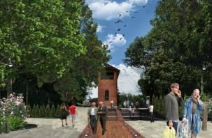 Смоленские дизайнеры показали, как должно выглядеть Массовое поле в Лопатинском саду